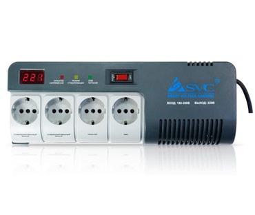 Стабилизатор (AVR) SVC AVR-1012-G, 1200VA, LED, в Бишкек