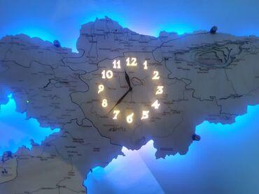 карты памяти apacer для навигатора в Кыргызстан: Карта кыргызстана с часами и подсветкой на стену, ночник