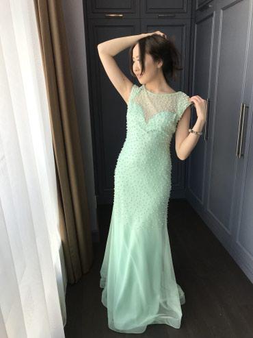 платье из фатина с кружевом в Кыргызстан: Вечернее платье на прокат -2500 сом, на продажу 6500сом . Размер :S
