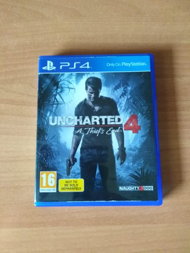 Uncharted 4 - PS4 σε Egaleo