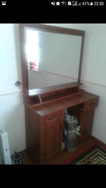 Продаю 2х спальный кровать и зеркало почти новый в Кызыл-Кия
