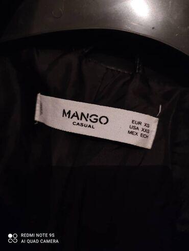 жен куртка в Кыргызстан: Женская одежда осенью кожаная куртка размер 44-42 фирма MANGO