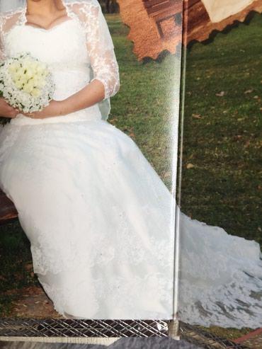 Продается свадебное платье ,полностью в Кок-Ой