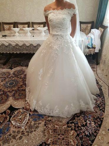 свадебное платье новое в Кок-Ой