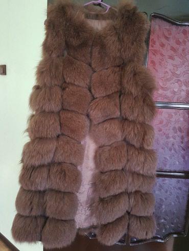 Новая жилетка-натуральный мех в Лебединовка