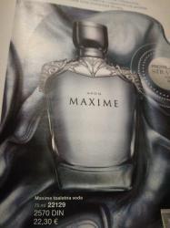 Maxi cosi - Srbija: Maxime muska toaletna voda 75ml + poklon balzam posle brijanja 100ml