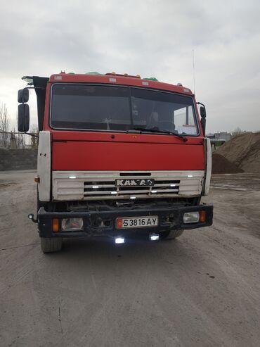 шины для грузовиков в Кыргызстан: Продаю КамАЗ состояние хорошее, с прицепом самосвал 2002 г.в. с водите