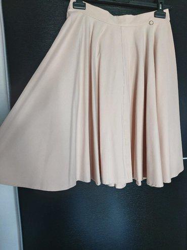 Suknje - Srbija: Legend suknja puder roze Velicina 29 Jednom nosena