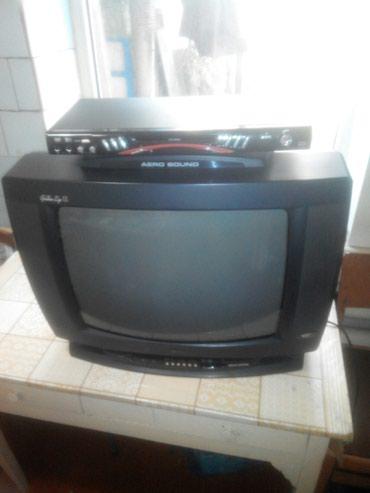 Продаю телевизор LG диагональ 54 см(оригинал),показывает супер+Dvd в Бишкек