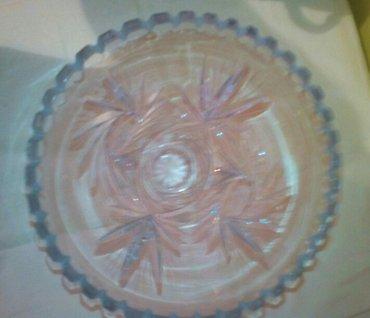 Velika kristalna vaza, bez ostecenja - Pozarevac