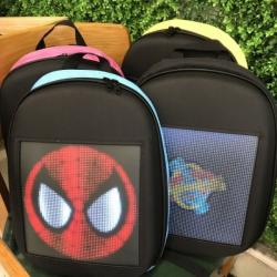 Рюкзаки с LED экраном