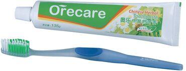 Зубная паста OrecareСпособствует укреплению зубной эмали, устраняет