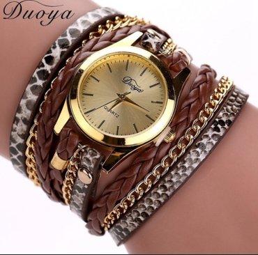 Ženski satovi narukvice Boje kao sa slike: crna, plava, braon, zlatna, - Nis - slika 4
