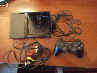 PlayStation 2 без адаптера питания и первого джоистика