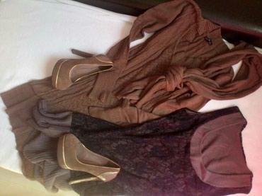 Dve haljinice univerzalne velicine i cipele br 37, sve za 1500! kao - Novi Sad