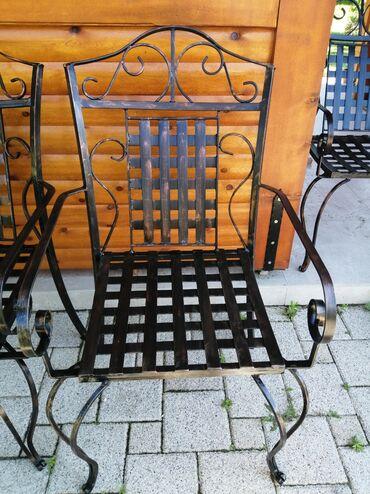 Kuća i bašta   Kovilj: Izrada baštenskih stolica od kovanog gvozdja