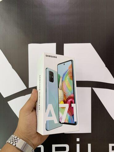 265 elan: Samsung Galaxy A71 Telefon bağlı qutuda .Qeydiyyatlı