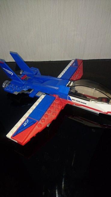 oyuncaq mktb avtobuslari - Azərbaycan: Oyuncaq Lego Oyuncaq Lego Captain America  Игрушка  Самолёт