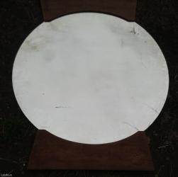 Prodajem ogledalo sa slike,polovno,okruglo fi 70cm, šrafi se na zid - Nova Pazova