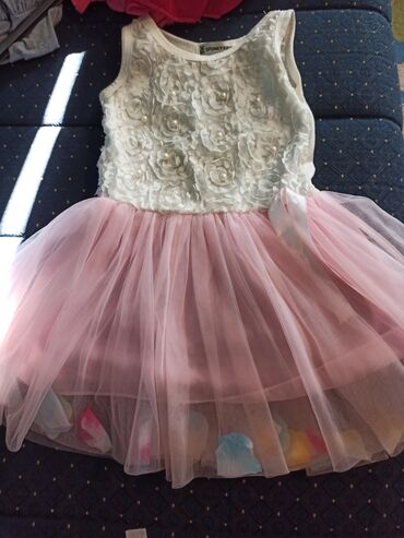Decije haljine - Krusevac: Predivna haljinica za devojčice do 4 godine.Gornji deo je od pamuka na