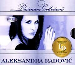 Aleksandra radovic platinum colection nov neraspakovan cd - Belgrade