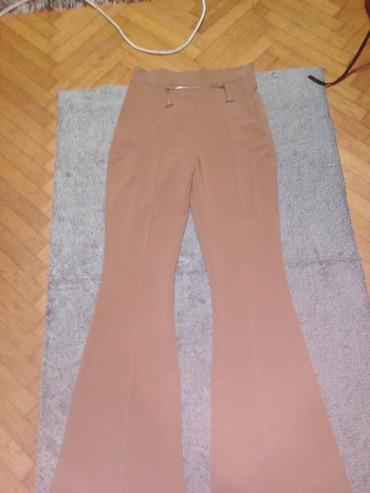 I pantalone broj - Srbija: Krem pantalone vrlo lepe I elegantne br38 malo veci model odgovaraju