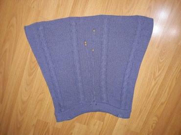 Trikotazna-pamuk - Srbija: Trikotazna suknjica,duz.45 cm,u struku je učkur