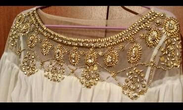 длинное белое платье в Кыргызстан: Белая вечерняя платье, длинная, размер *46*, цена *3500* сом, торг