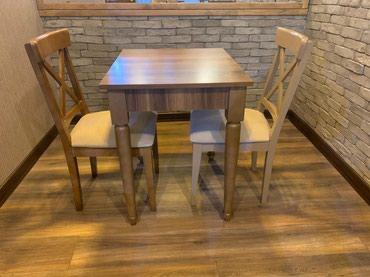 kafe ucun stol stul - Azərbaycan: Kafe,restoran ve metbex ucun stol stul desti. Masa 160 azn. stul 1