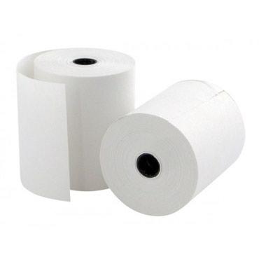 Бумага для чека размер 80х80х12, Чековая бумага 80мм * 80мм цена 70