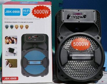 Muska odela - Srbija: Veliki Blutut Zvucnik Karaoke JBK-0908 sa mikrofonom i daljinskimSamo