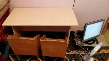 Детская мебель в Кыргызстан: Продаю детский комплект парта со стульчиками