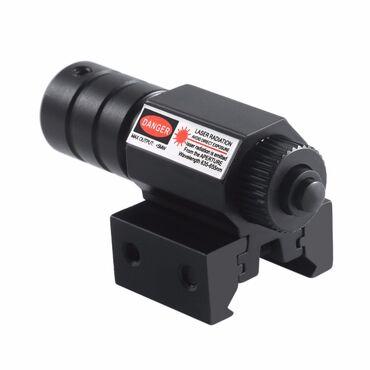 Crveni laserCrveni obeleživač sa montažom za šinu od 11mm ili