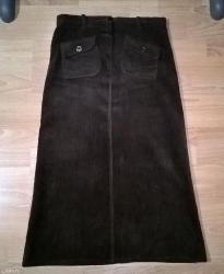 Ženska odeća   Surdulica: Suknja, velicina 42, somot