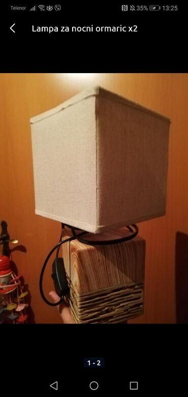 Nova lampa  Dve za 1500