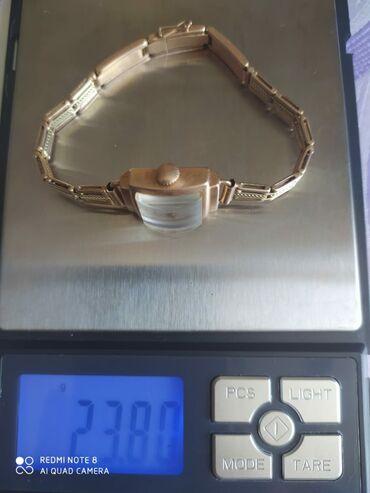- Azərbaycan: Золотые женские часы,проба 583,советские