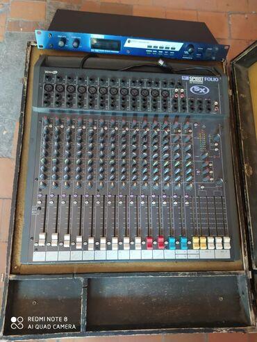 примочка для электрогитары в Кыргызстан: Продаю б/у микшерный пульт Spirit Folio By Soundcraft SX. Производство