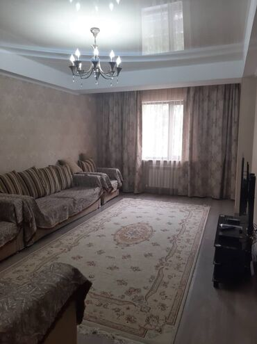 Сдается квартира: 2 комнаты, 77 кв. м, Бишкек