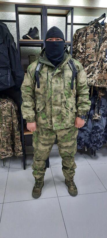 """Надежный не продуваемый Костюм Горка 5 """"Мох""""⠀⠀⠀⠀⠀ ⠀⠀⠀⠀⠀⠀⠀⠀⠀⠀⠀⠀⠀⠀  Дл"""