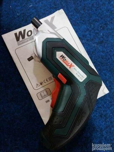 Aku busilica-zavrtac W-AS 3.6Napon baterije: 3.6 V- Broj obrtaja