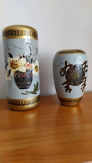 Вазы - Кыргызстан: Керамические вазы из Китая, двусторонние, можно менять рисунок