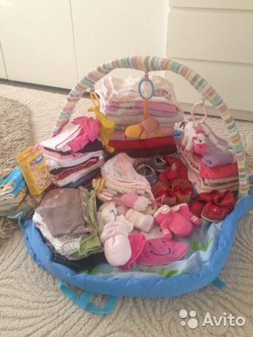 Продаю детские вещи пакетом в Бишкек