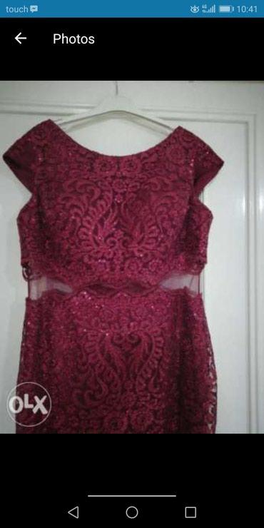 Продаю шикарное вечернее платье из вышитого дорогого гепюра, 50 р-р