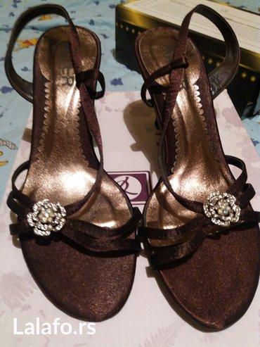 Nove alterine braon zlatne sandale velicina 36  uz njih idu i rezervne - Vrnjacka Banja