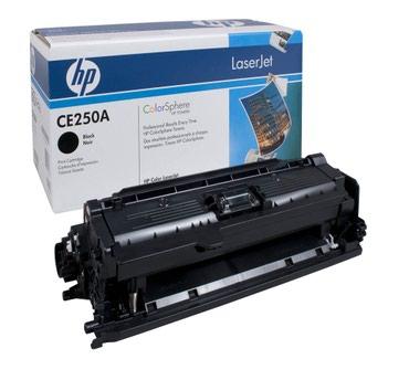 Картридж HP CE250A черный,  для принтеров в Бишкек