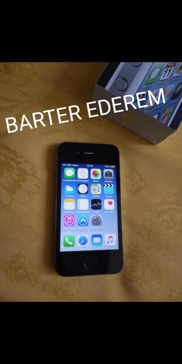 İşlənmiş iPhone 4S 16 GB Qara