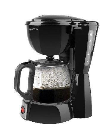 колба для кофеварки vitek в Кыргызстан: 11707 - Кофеварка VITEK VT-1521Капельная кофеварка, 600 Вт, корпус