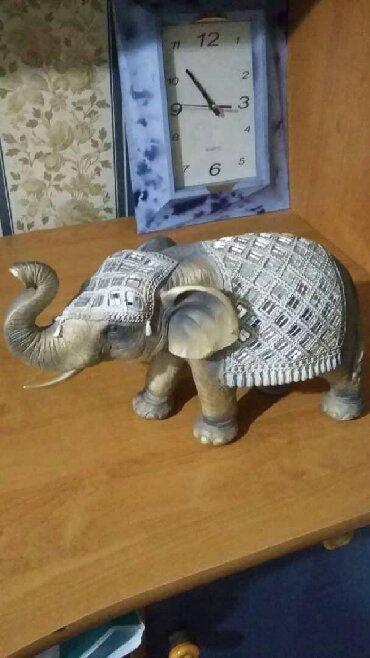 Статуэтки - Кыргызстан: Статуэтка слон, привезена из Праги, покупали гараздо дороже, новая