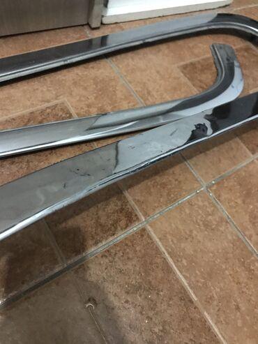 CL W140 хром на задний бампер