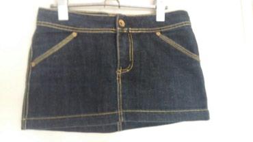 Teksas suknjica - Srbija: 400rsd teksas suknjica crne boje s velicine u odlicnom stanju . pog